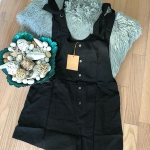 Lost in Lunar black romper!